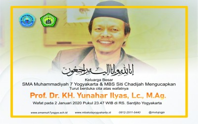 Berita Duka Cita Prof. Dr. H. Yunahar Ilyas, Lc., M.Ag.