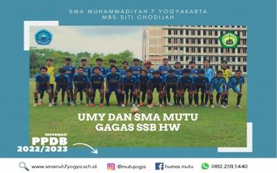 UMY dan SMA Muhammadiyah 7 Yogyakarta Gagas Akademi Sepak Bola Hizbul Wathan  (ASHW)
