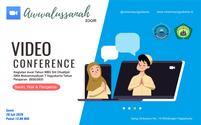 Awwalussanah MBS Siti Chadijah Berlansung Daring