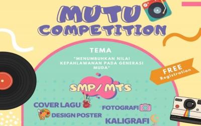 MUTU COMPETITION 2021 PR IPM SMA MUHAMMADIYAH 7 YOGYAKARTA