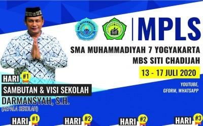 MPLS SMA Muhammadiyah 7 Yogyakarta Berlangsung Secara Daring Selama 5 hari